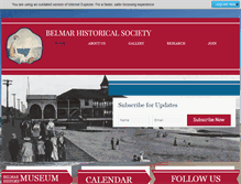 Tablet Preview of belmarhistoricalsociety.org